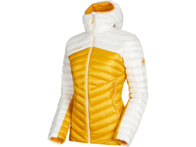 Mammut Broad Peak Chaqueta IN Mujer, golden-bright white